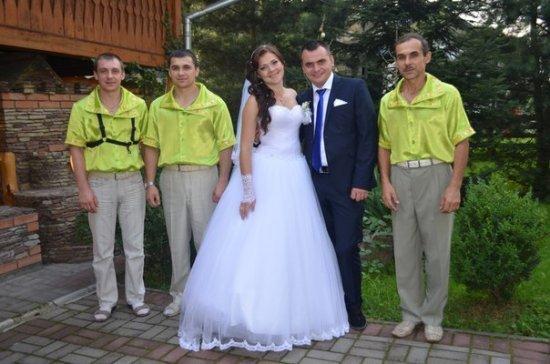 Весілля Людмили  та  Мар'яна